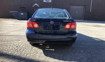 Toyota Corolla 2008 Limited Edition plein